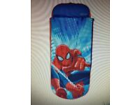 SpiderMan Júnior Air bed and Sleeping Bed