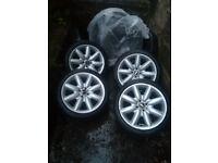 Mini Cooper wheels & tyres