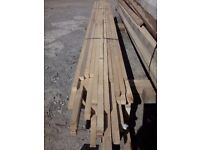 7ft long 20mm x 20mm timber / wood. Ideal for fence trellis or garden tree stakes