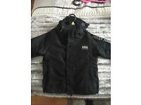 Black helly hanson jacket