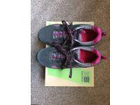Karrimor Mount Low Womens Walking Shoes, UK size 6.5, US size 7.5, Black / Pink