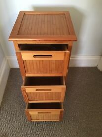 Wooden draw cabinet