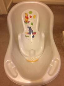 Baby bath and baby bath seat