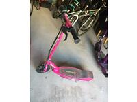 Razor scooter pink