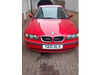 BMW 316... 2001 .. MOT OCT 17