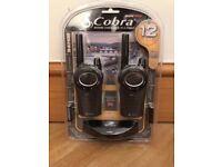 Cobra MT975-2 VP Walkie Talkie Set, Brand New & Sealed, 12KM Range, 8 Channels, Rechargeable