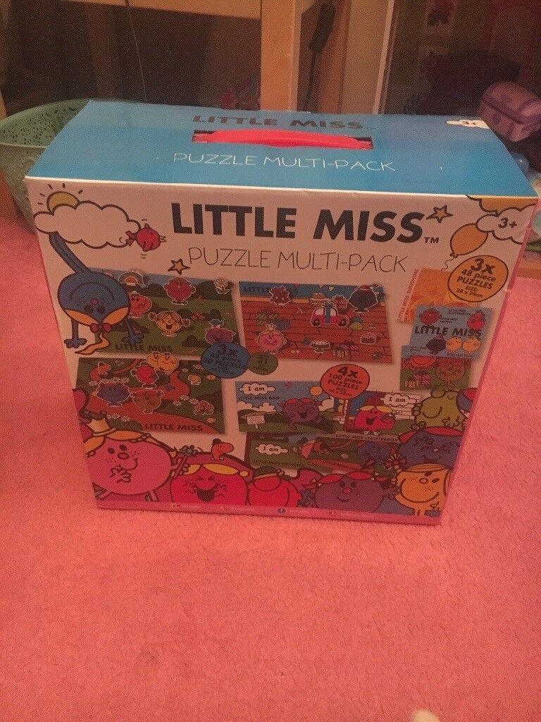 Huge set of Little Miss jigsaw puzzles