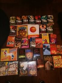 Large collection of new books. Around 200 items.