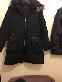 Ladies winter coat size 14