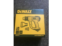 BRAND NEW SEALED DEWALT HEAT GUN 2000W LCD TEMP CONTROL SEALED IN BOX