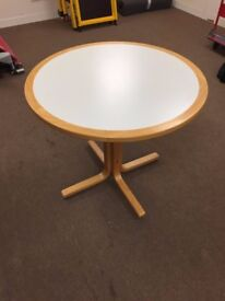 900mm Wooden Round Table