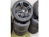 Bmw M6 Alloy Wheels 18'' Can Sell Singles Can Post Part Exchange Welcome