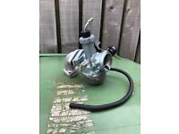 Pit bike pz22mm carb and manifold