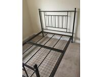 Double Bed / no mattress