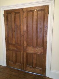 Original pair of Victorian doors in excellent condition, lots of character