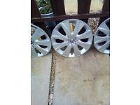 Peugeot 108 set of wheel trims