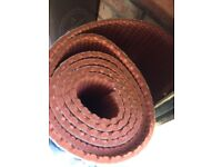 11mm Tredaire Red underlay.
