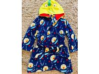 Alien dressing gown. Age 6-7 years.,
