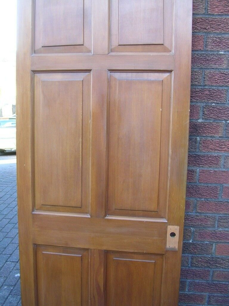 6 Panel Solid Wood Interior Doors In New Tredegar Caerphilly