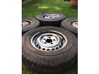 Volkswagen T2 Bay Wheels and Tyres x4