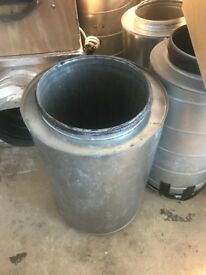 """Cheshunt Hydroponics Store - used 12"""" inline silencer"""