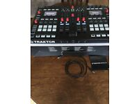 PRICE REDUCED - TRAKTOR KONTROL S8 - SCRATCH PRO LICENCE - ALL ACCESSORIES AND BOX INCL
