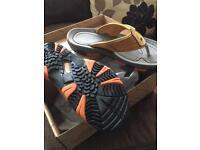 Northwest flip flops size 10 brand new