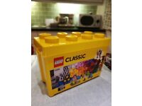 Lego Classic yellow stackable storage tub (EMPTY!)