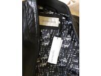 Calvin Klein leather jacket - new
