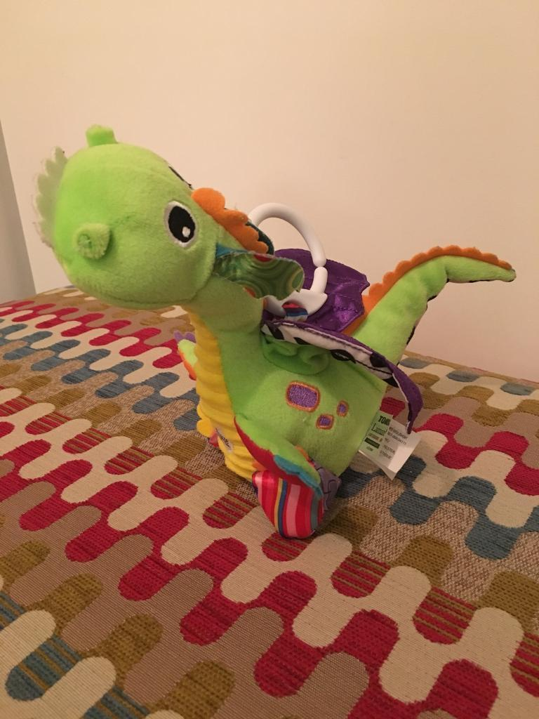 Lamaze dragon toy