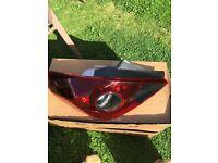 Vauxhall corsa D rear lights brand new