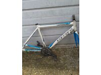 Carrera road bicycle frame set
