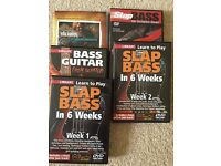 Bass tutor DVDs