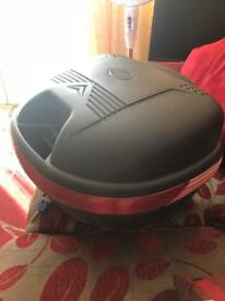 20l top box with fixing brackets