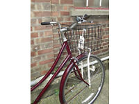 Vintage ladies dutch bike RALEIGH CAMEO - 3 speed size 20 NEW brakes saddle serviced VGC - Welcome