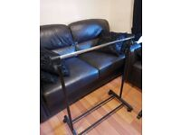 2 x clothes rails
