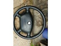 Vauxhall vectra steering wheel