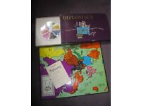 Diplomacy board game from 1971