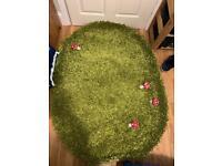 Nursery kids children's room carpet