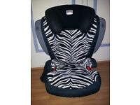 Britax Car Seat - Smart Zebra ISOFIT - EXCELLENT CONDITIONS - ONLY £80