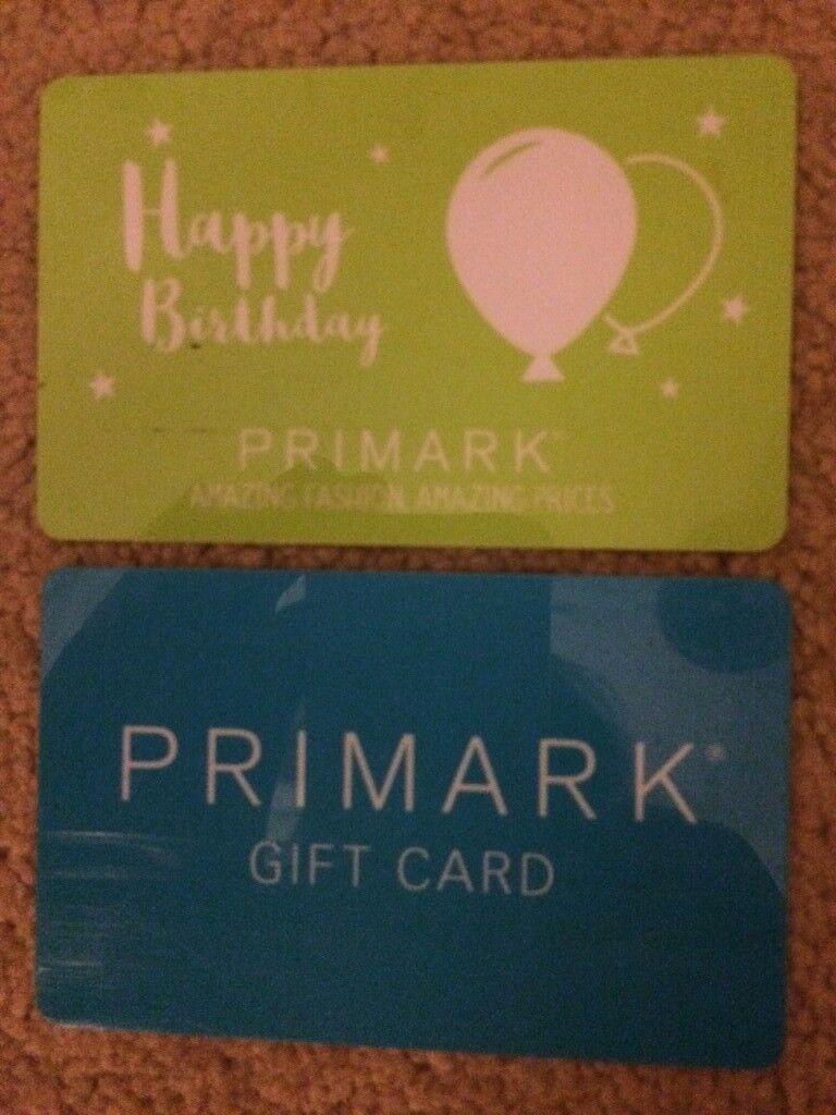 £58 worth of Primark vouchers for £40