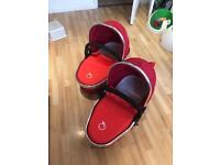 Icandy carrycots (pair)
