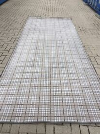 Large Checked Rug