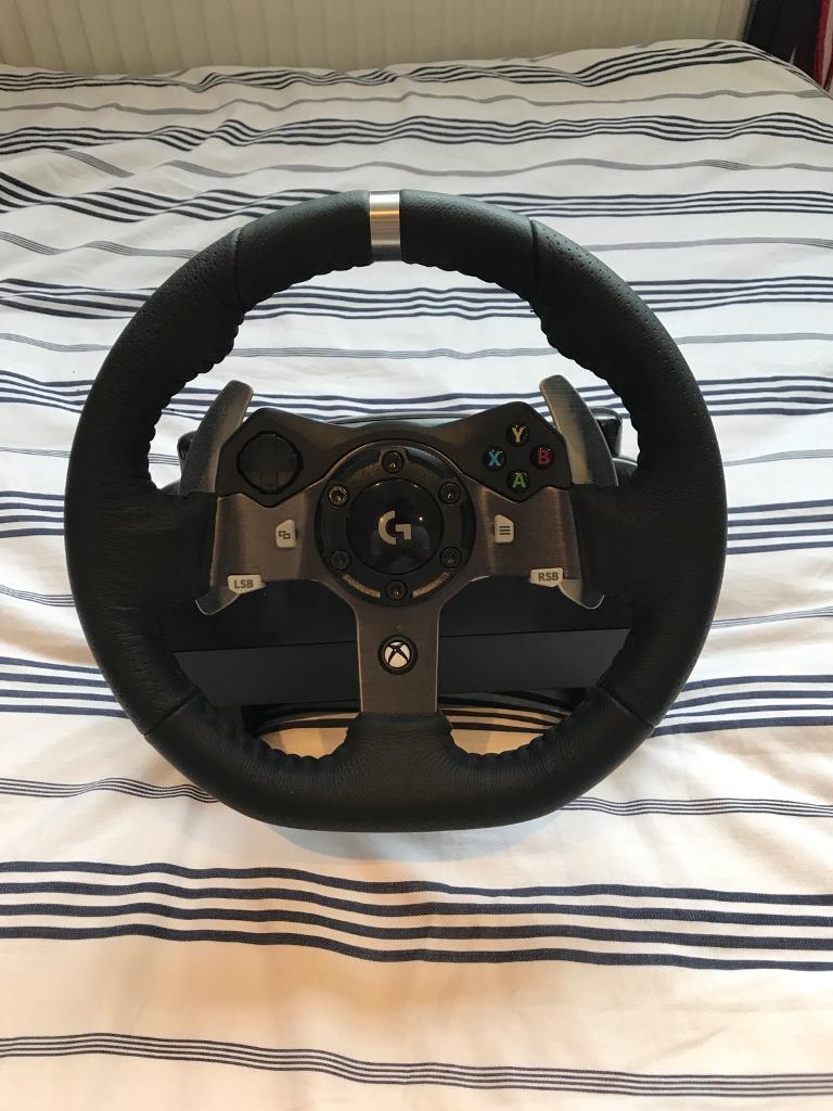 Logitech G920 Racing Wheel Pedals In Andover Hampshire Gumtree