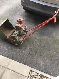 Vintage lawnmower