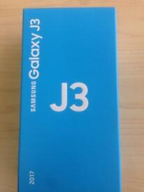 Samsung Galaxy j3 2017 Gold Brand New boxed