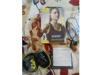 wireless earphones+gym app 10/10