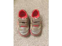 Boys Clark's shoes 8F