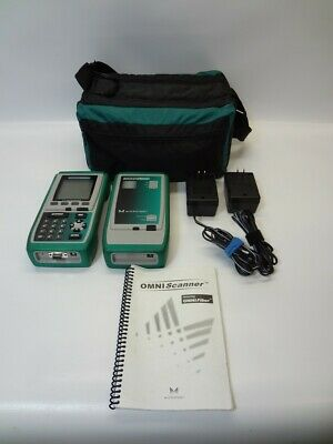 Fluke Microtest Omni Scanner Cable Analyzer Bundle