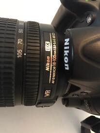 Nikon D5000 - AF-s NIKKOR 18-105 mm